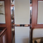 Boat Door Blind   Blackout Fabric