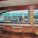 Yacht wood blinds