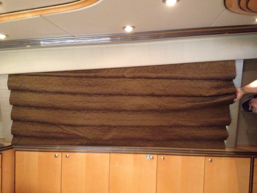 Electric Yacht Shades Electric Yacht Window Treatments