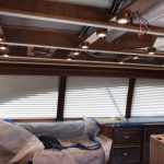 boat blinds, electric boat blinds, motorized boat blinds, electric yacht window treatments, electric yacht curtain, motorized yacht curtain