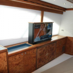 Yacht blind, boat blind, boat window treatment