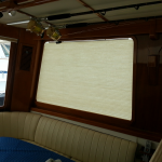 yacht blind, East Bay blinds, East Bay Shades, boat blinds