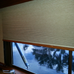 "50"" Bertram boat blinds"