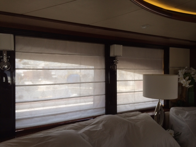 Automated Yacht Curtains Electric Yacht Shades