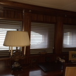 Yacht window treatments