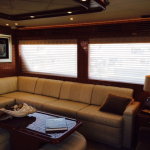 yacht window treatments, yacht curtains, boat blinds and shades, yacht shades