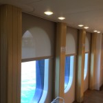 yacht window covering, yacht window treatment, yacht curtain, yacht shade, yacht blind,