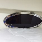 Pershing yachts, boat blinds and shades, custom port light covers, yacht window covers