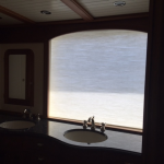 Electric yacht shade, electric yacht curtain, Trinity window shade, Trinity electric shade, Trinity automated shade, boat blinds and shades