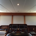 Electric yacht curtain, electric boat blinds, electric yacht shade, electric yacht window treatments