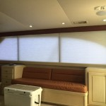 Electric Yacht Shades, Hatteras motorized window coverings, Hatteras electric curtains, Hatteras yachts