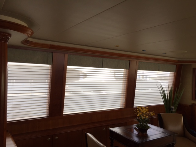 Yacht Window Treatments Boat Blinds And Shades