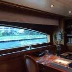 Benetti yachts, Benetti window treatments, boat blinds and shades, Benetti curtains