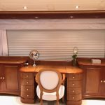Benetti window treatments, Benetti yachts, Benetti window curtains, boat blinds and shades