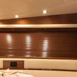 "1"" Venetian wood boat blinds, boat blinds, wood boat blinds, boat window treatments, wood curtains"