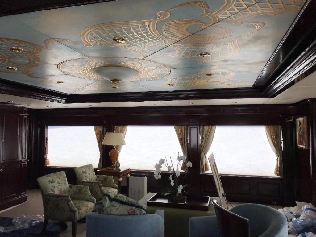 electric yacht window treatments, electric yacht shade, electric yacht curtains, electric boat curtains, electric boat blinds, motorized boat blinds, motorized yacht curtains